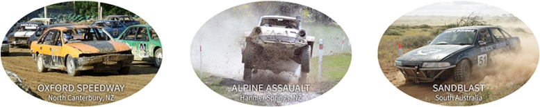Darlene Mathieson racing in New Zealand and Australia